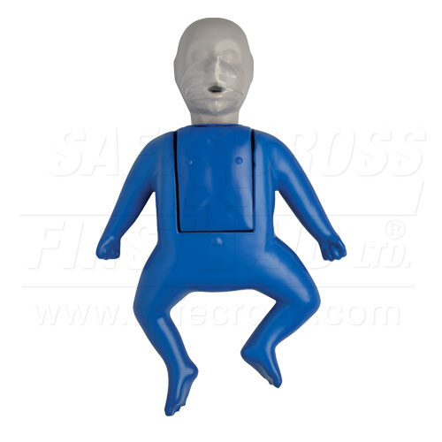 CPR Prompt - Infant Training Manikin with 10 face shield/lung bags