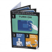 Philips FRx AED Quick Reference Card