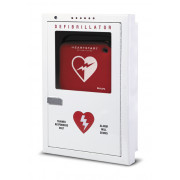 Philips AED Cabinet - Premium Semi-Recessed, with Audible Alarm and Strobe Light, English