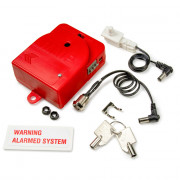 Alarm for  MMP Standard Surface Wall Cabinet. Red