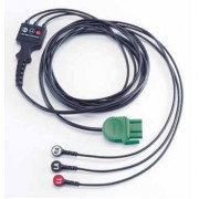Physio-Control LIFEPAK® 1000 ECG/EKG Monitoring Cable, 3-wire (Lead II)