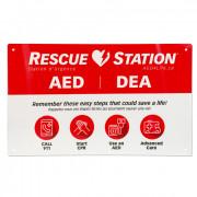 RescueStation™ Flat Sign