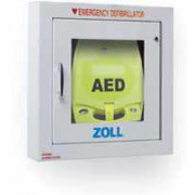 Semi Recessed AED Wall Cabinet