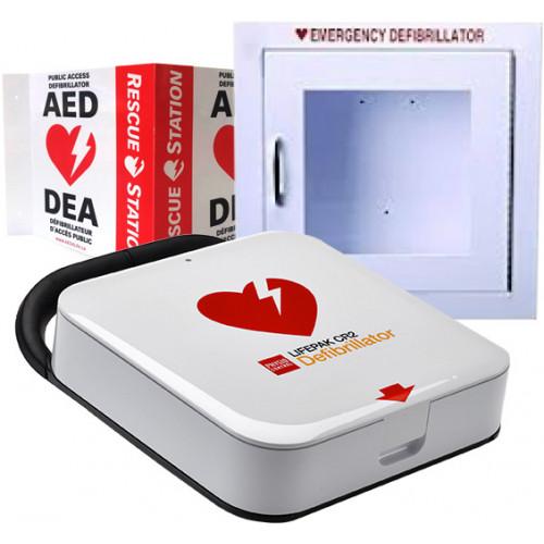 Physio Control Lifepak Cr2 Semi Automatic Bilingual Wifi